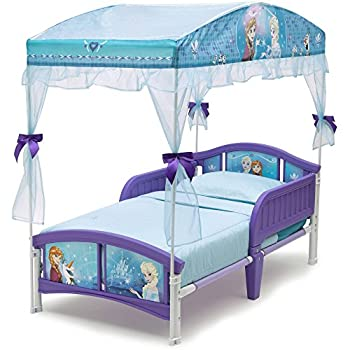 Delta Children Canopy Toddler Bed, Disney Frozen