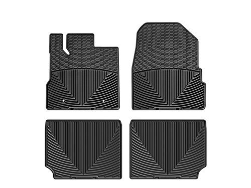 WeatherTech (W165-W281) Floor Mat, Rubber, Front/Rear, Black (Weathertech W165 compare prices)