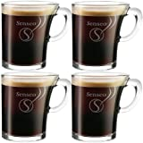 4 x SENSEO Design Glas Tasse 180ml
