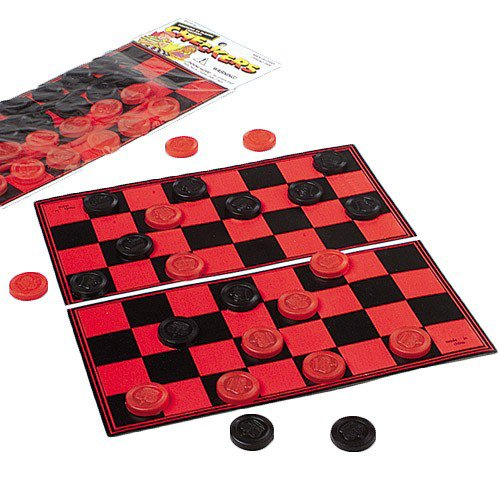 Portable Travel Kids Complete Checkers Set