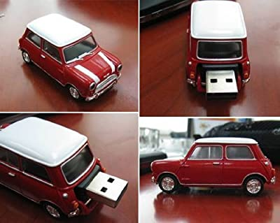 4GB MINI (1X MAROON) UNION JACK ROOF USB Flash Memory Drive 4GB 2.0 USB Memory Stick / Flash Drive. from NUT