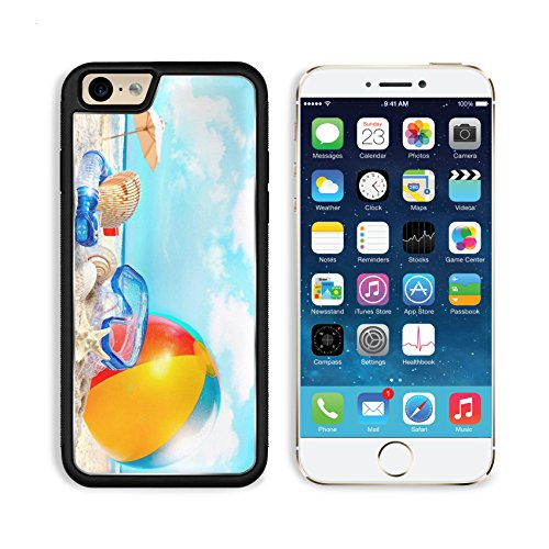 Summer Holiday Beach Ball Umbrella Apple Iphone 6 Tpu Snap Cover Premium Aluminium Design Back Plate Case Customized Made To Order Support Ready Msd Iphone_6 Professional Case Touch Accessories Graphic Covers Designed Model Sleeve Hd Template Wallpaper Ph front-968954