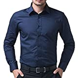 Formal And semi formal Blue Shirt For Men's