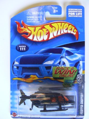 Hot Wheels 2002 Propper Chopper, 1 of 4 #111, Race and Win Series - 1