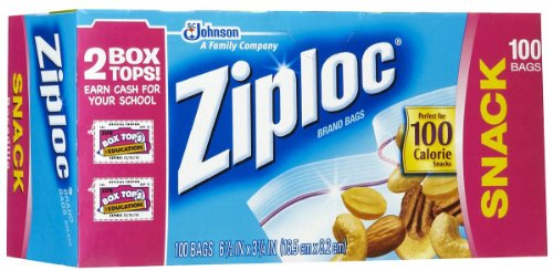Ziploc Snack Bags Value Pack 100-packB0000DIWQO : image