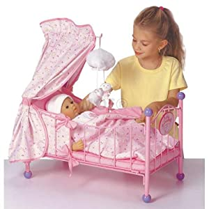 Zapf creation baby annabell musical bed amazon co uk toys amp games