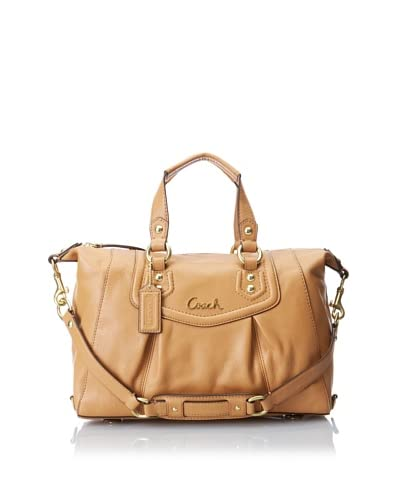 Coach Women's Shoulder Bag, Camel