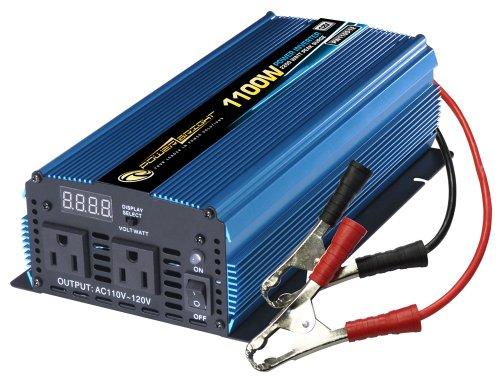Power Bright PW1100-12 Power Inverter 1100 Watt 12 Volt DC To 110 Volt AC (Power Bright compare prices)