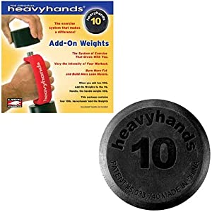 Heavyhands 10 lb. Add-On Weights