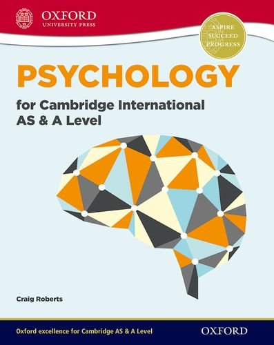 Psychology for Cambridge International AS and A Level (International a Level)
