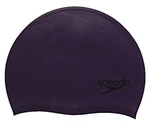 Speedo Silicone Swim Cap (Purple)