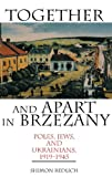 img - for Together and Apart in Brzezany: Poles, Jews, and Ukrainians, 1919-1945 book / textbook / text book