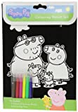 Alligator Books Peppa Pig Velvet Colouring Set