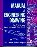 img - for Manual of Engineering Drawing to British and International Standards book / textbook / text book
