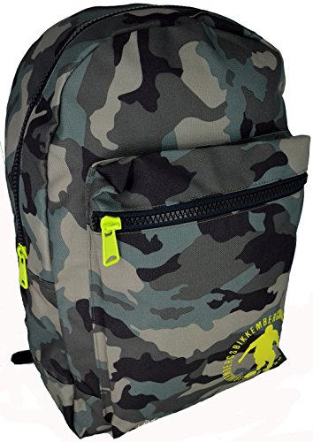 Zaino Uomo Donna Bikkembergs Backpack Men Woman Db-B2S Big BackPack Camouflage D3102