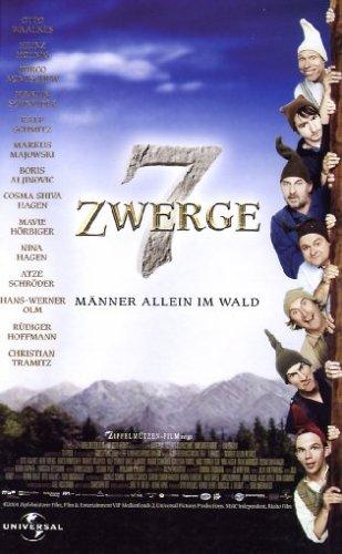 7 Zwerge - Männer allein im Wald [VHS]