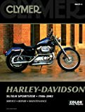 Clymer Repair Manuals Harley-Davidson Sportster 1100 Standard XL1100 Sportster 1200 Custom XL1200C Sportster 1200 Standard XL1200 Sportster 883 Custom XL883C Sportster 883 Hugger XL883 Sportster XL883R