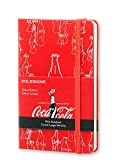 Moleskine Coca-Cola Limited Edition Notebook, Pocket, Plain, Scarlet Red, Hard Cover (3.5 x 5.5)