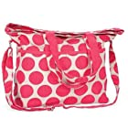 Thirty One Retro Metro Fold Over Coral Mod Dot