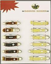 Rough Rider Set of 12 Knives.