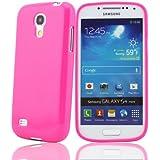 Bingsale TPU Silikon Schutzhülle Samsung Galaxy S4 mini Hülle Tasche Hot Pink