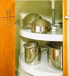 drehboden 3 4 kunststoff karussell eckschrank rondell k che haushalt. Black Bedroom Furniture Sets. Home Design Ideas