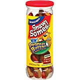 Snausages SnawSomes Dog Treats, Peanut Butter and Apple, 9.75 ounce (pack of 5)