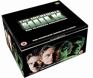 The Incredible Hulk DVD Set