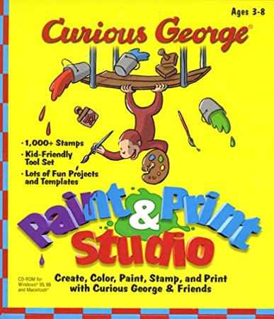 Curious George Paint and Print Studio