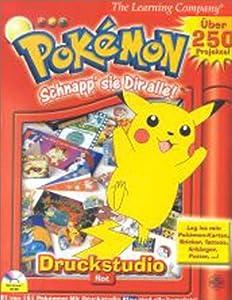 Pokemon: Printstudio Rot