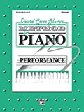 img - for David Carr Glover Method for Piano Performance: Primer book / textbook / text book