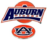 Auburn Tigers Slider Clip with Golf Ball Marker