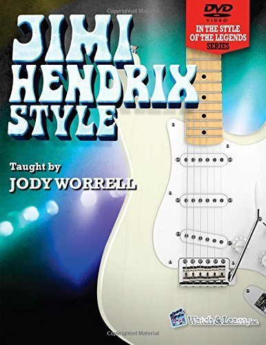 Jimi Hendrix Style Book with 2 DVDs by Jody Worrell (2013) Paperback
