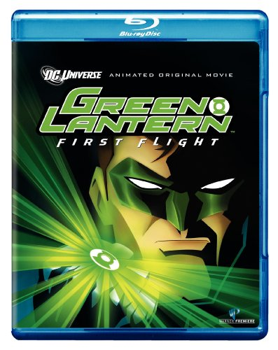 Cover art for  Green Lantern: First Flight [Blu-ray]