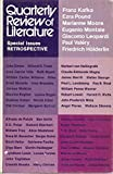 img - for Quarterly Review of Literature Speciall Issues Retrospective (Volume XX, No 1 $ 2) book / textbook / text book