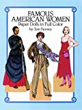 Famous American Women Paper Dolls in Full Color