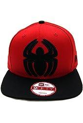 Spiderman New Era ORIGINAl FIT Hero Fill Snapback Cap Hat Red Black