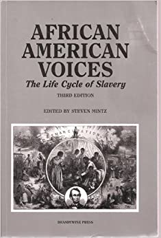 the struggles of slaves in the life cycle of slavery by steven mintz Sidney mintz, sweetness and power  free the slaves, the congo report: slavery in conflict minerals  the life cycle of plastic beads is traced from their.