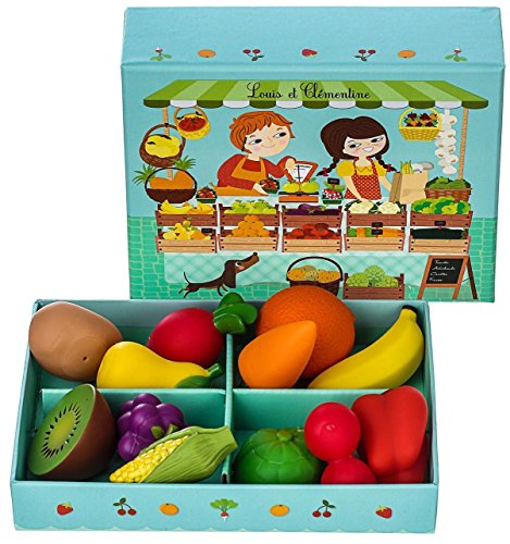 Djeco DJ06621 Role Play- Louis And Clementine Playset - 1