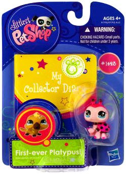 hasbro littlest pet shop COCCINELLE ROUGE 1423 LADYBUG RARE collector exclusif USA LIVRE NEUF SANS EMBALLAGE