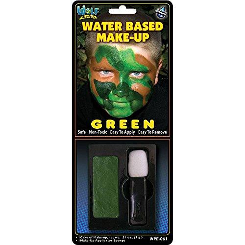 Green Water Based Make-Up