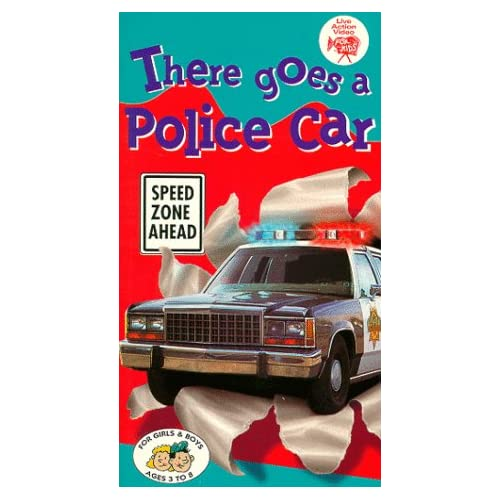 Amazon.com: There Goes a Police Car [VHS]: Real Wheels