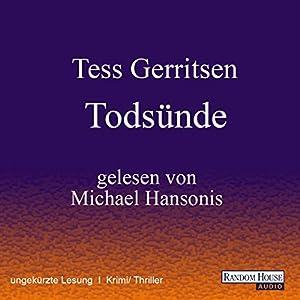 Todsünde (Maura Isles / Jane Rizzoli 3) Audiobook