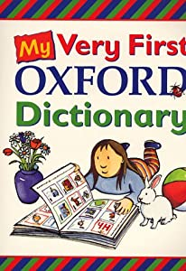 My Very First Oxford Dictionary Big Book Amazon Co Uk