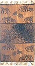 Luxury Oversized Beach Towels Tiger Land 100 Egyptian Cotton