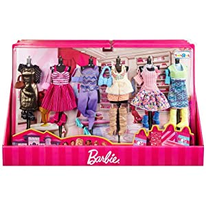 Barbie Fashion Clothes Ultimate Gift Set 6 Outfits