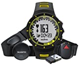 Suunto Quest Yellow GPS Pack Orologio, Nero/Giallo