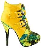 Produktbild von Show Story Gelb Schnalle Nachthimmel High Heel Stiletto