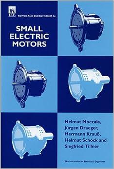 Small Electric Motors H Moczala 9780852969212 Books