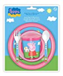 Peppa Pig Lunch Dinner Set Microwave...